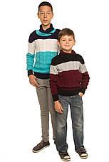 """Детский шерстяной свитер """"Тэйлор"""", для мальчика - оптом, фото 3"""
