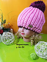Модная детская шапка на флисе