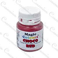 Сухой краситель Magic Colours для шоколада - Красный - 5 г