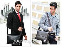 Кожаная мужская сумка портфель ЗЕФЕР А4. Сумки для мужчин. Модные сумки. Офисные сумки. Код:КСДЕ24-2