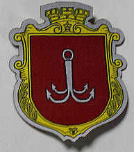 Термонаклейка на одяг Одеса (жакардове плетіння)