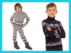 Теплые свитера и костюмы - для мальчика от 2 до 6 лет