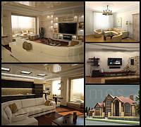 Дизайн/визуализация интерьера, архитектурное проектирование