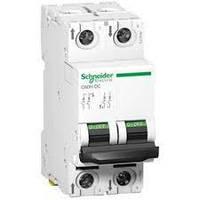 Автоматический выключатель постоянного тока C60H-DC 2P 4A C 500B DC Schneider Electric A9N61524