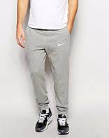 Спортивные, зимние штаны Nike, Найк серые, ф3544