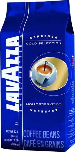 """Зерновой итальянский кофе Gold selection 1кг Lavazza - Интернет-магазин """"BitHim"""" в Днепре"""