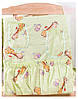 Постель Qvatro GOLD с рисунком (8 элем.,без змеек на защите) Салатовая (жирафик), фото 3