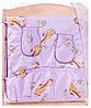Постель Qvatro Gold С Рисунком (8 Элем.,Без Змеек На Защите) Сиреневая (Жирафик), фото 3