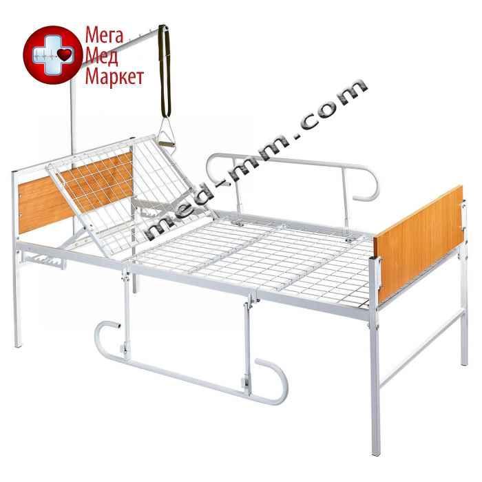 Кровать медицинская функциональная 2-х секционная (ЭКОНОМ)