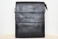 Кожаная мужская сумка на ремне ST.