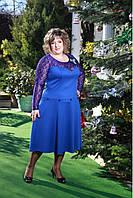 Новогоднее платье р.56