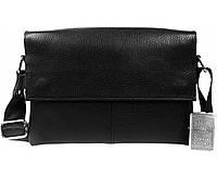 73033619c48d Мужская кожаная сумка горизонтального типа с клапаном av-105black в категории  сумки оптом харьков от