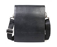 b0c83acaac60 Повседневная кожаная мужская сумка на плечевом ремне и на магните 813-3-opt  в