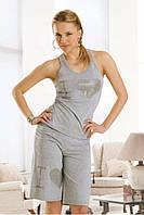 Домашний комплект шорты и майка-борцовка