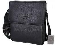 8b387c1dfb40 Повседневная кожаная мужская сумка на плечевом ремне и на магните HT-1571-4-