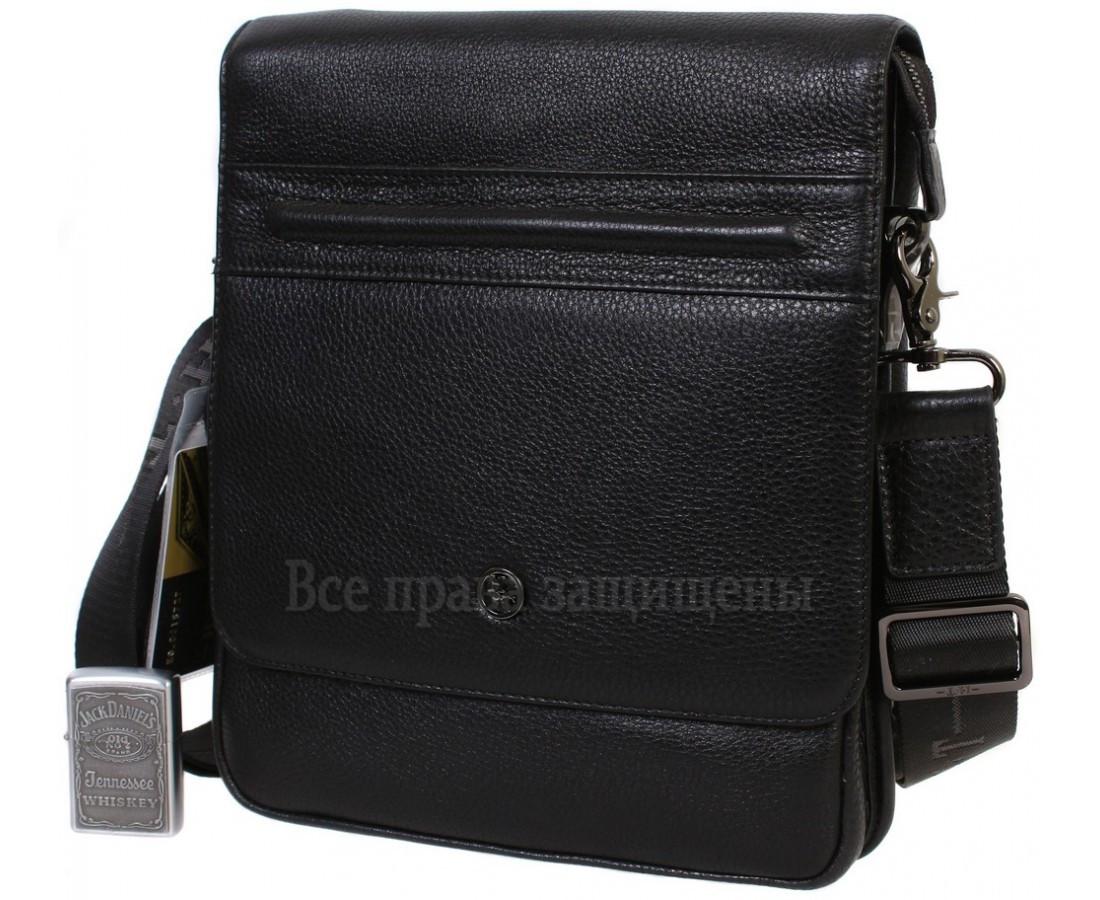 97dc732c196c Модная черная сумка из натуральной кожи для мужчин HT-5267-3-opt в ...