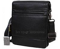 Модная черная сумка из натуральной кожи для мужчин HT-5267-3-opt в категории купить недорого мужские сумки оптом Львов