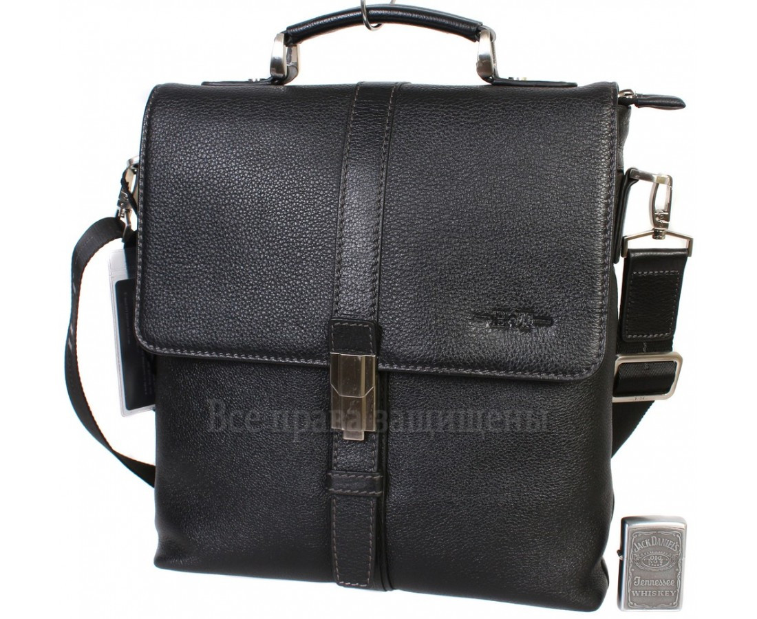 b1a515864037 Наплечная сумка бизнес-класса из натуральной кожи с ручкой для солидных  мужчин HT-5117
