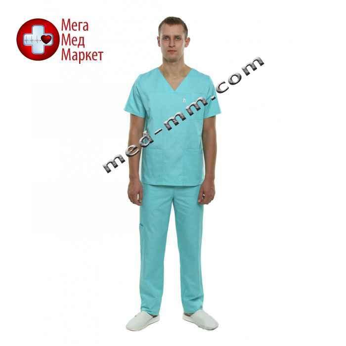 Медицинский костюм Мадрид мятный №132