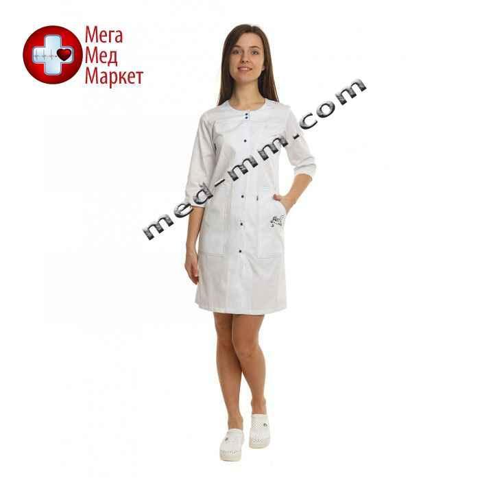Медицинский халат женский Севилья белый №95