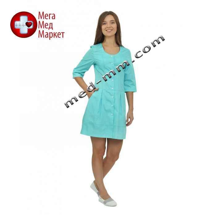 Медицинский халат женский Венеция мятный №63