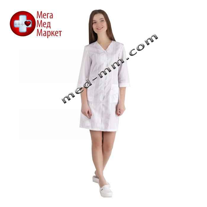 Медицинский халат женский Сингапур белый №106