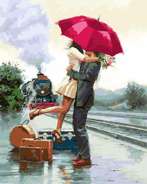 Картина по номерам 40×50 см. Долгожданная встреча Художник Ричард Макнейл