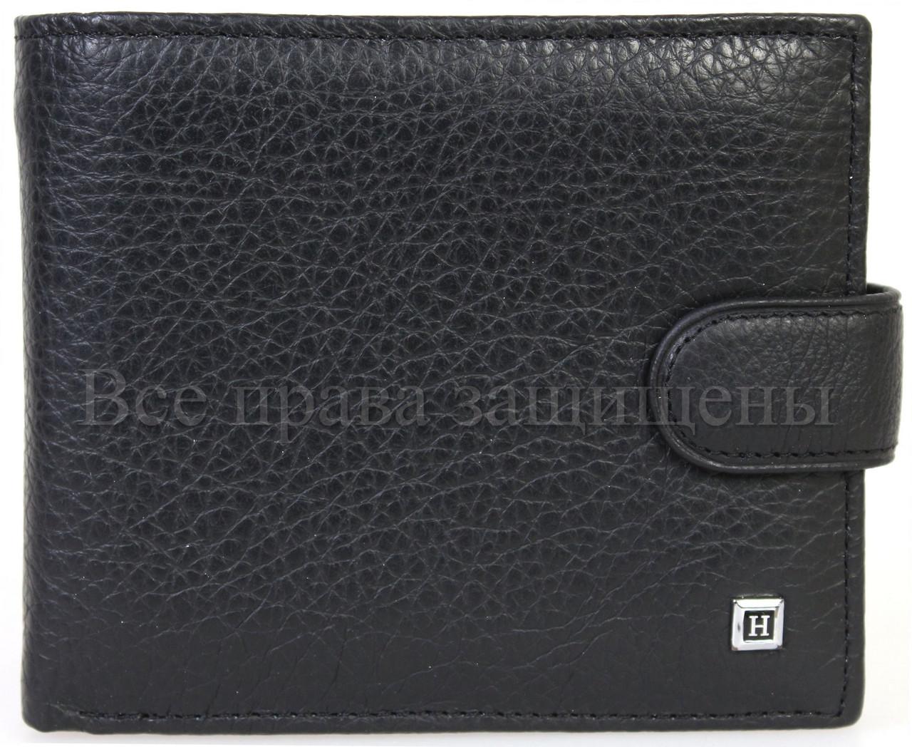 ebfc52802de5 Стильный мужской кошелек из натуральной кожи купить оптом дешево Horton  (H110BLACK)