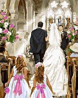 Картины по номерам 40×50 см. Свадебная церемония Художник Ричард Макнейл