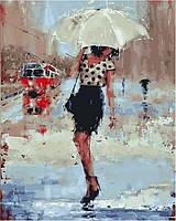 Картины по номерам 40×50 см. Дождливый день Художник Лаура Ли Зангетти, фото 1