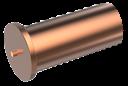 Втулка ISO13918 5х8/М3 привар 4.8 омедненный
