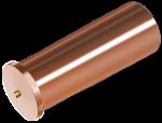Втулка ISO13918 6х12/М4 привар 4.8 омедненный