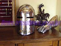 Шлем крестоносца стальной 13-14 век