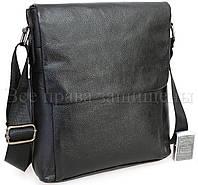 Классическая мужская сумка через плечо SK716-black