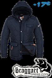 Куртка Braggart Dress Code зимняя, капюшон съемный на молнии, опушка отстегивается + (2 цвета)