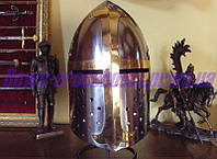 Шлем крестоносца стальной 12-13 век