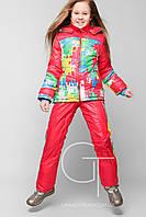 Детский лыжный костюм для девочки модный