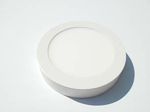 Led светильник 12w накладной круглый МОТОКА 3000К, фото 2