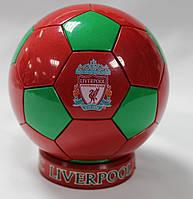 Сувенирный настольный футбольный мяч с символикой FC Liverpool