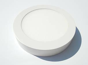 Led светильник 18w накладной круглый МОТОКА 3000К, фото 2