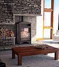 Отопительная печь-камин длительного горения AQUAFLAM VARIO BARMA (белый дуб), фото 5