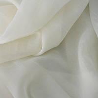 Ткань шифон вуаль креш ваниль