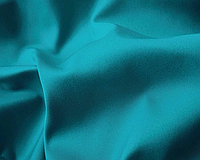 Костюмные ткани коттон мемори (Голубая-бирюза)