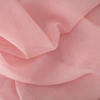 Ткань шифон вуаль креш розовая