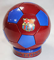 Сувенирный настольный футбольный мяч с символикой FC Barcelona