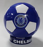 Сувенирный настольный футбольный мяч с символикой FC Chelsea