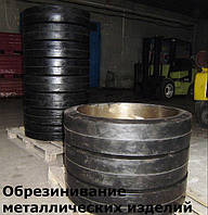 Обрезинивание деталей из металла, различных размеров (Гуммирование)