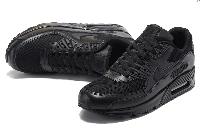 "Кроссовки Nike Air Max 90 ""Premium Triple Black"" Арт. 1520"