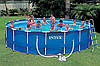 Каркасный бассейн Intex-интекс  54952 Metal Frame Pool (549 х 122 см) + фильтрующий насос + аксессуары киев