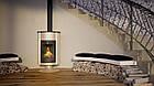 Отопительная печь-камин длительного горения Masterflamme Grande II (кремовый металлик), фото 5